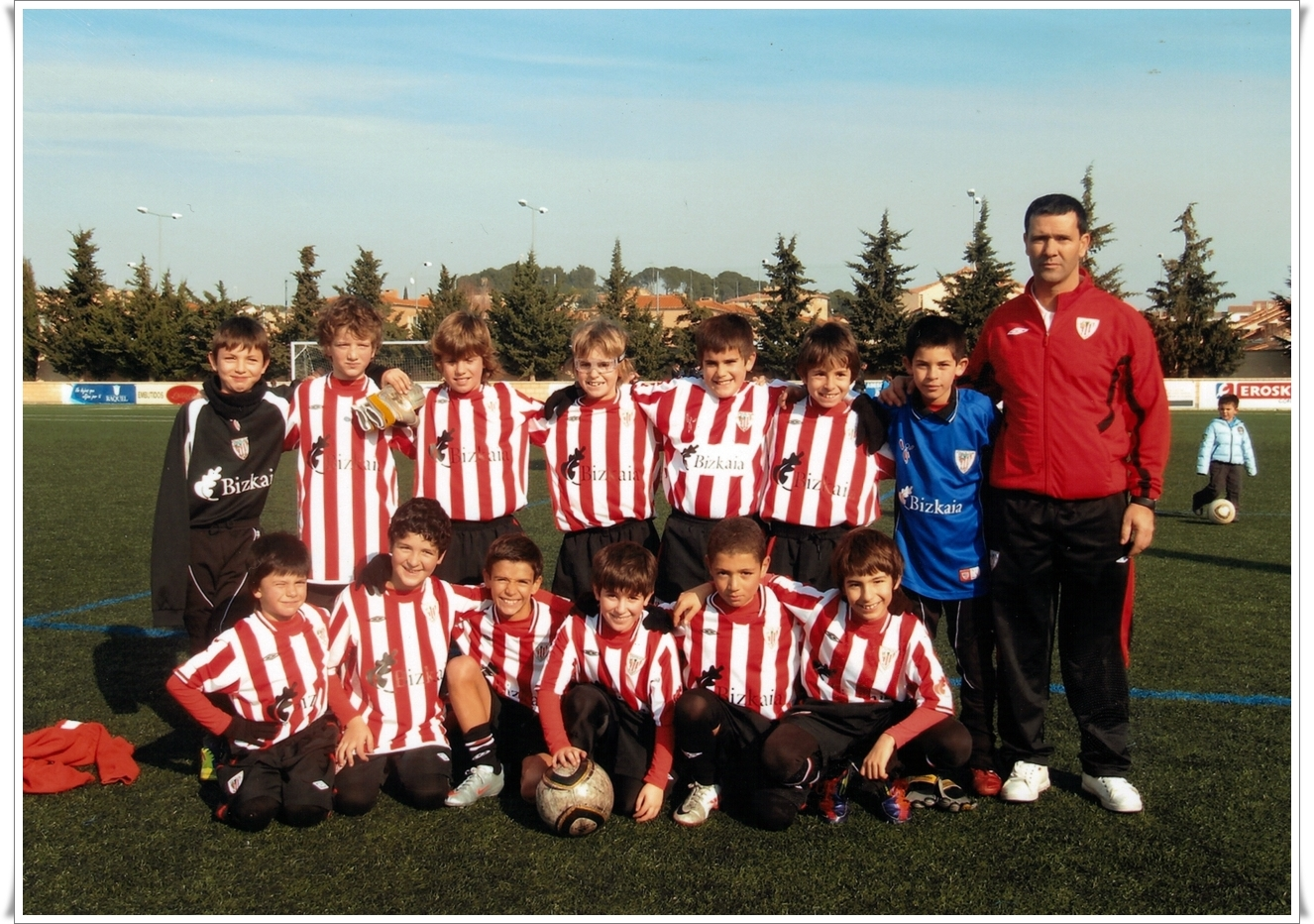 Plantilla Benjamin Temp. 2011-2012