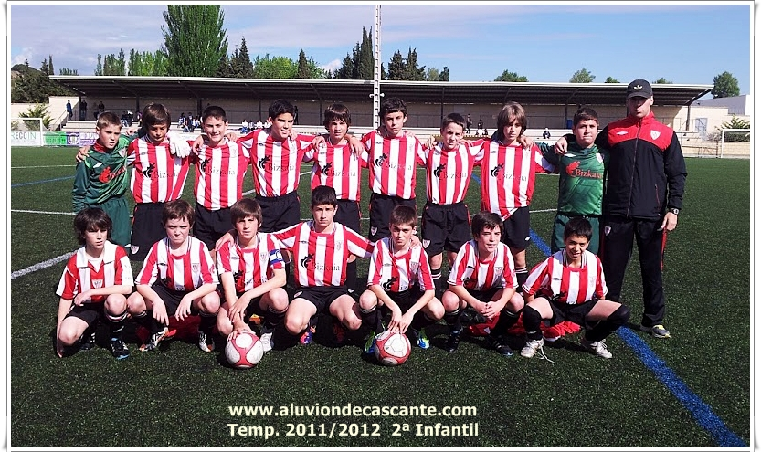 C.D. Aluvion Segunda Infantil Navarra Temp 2011/202