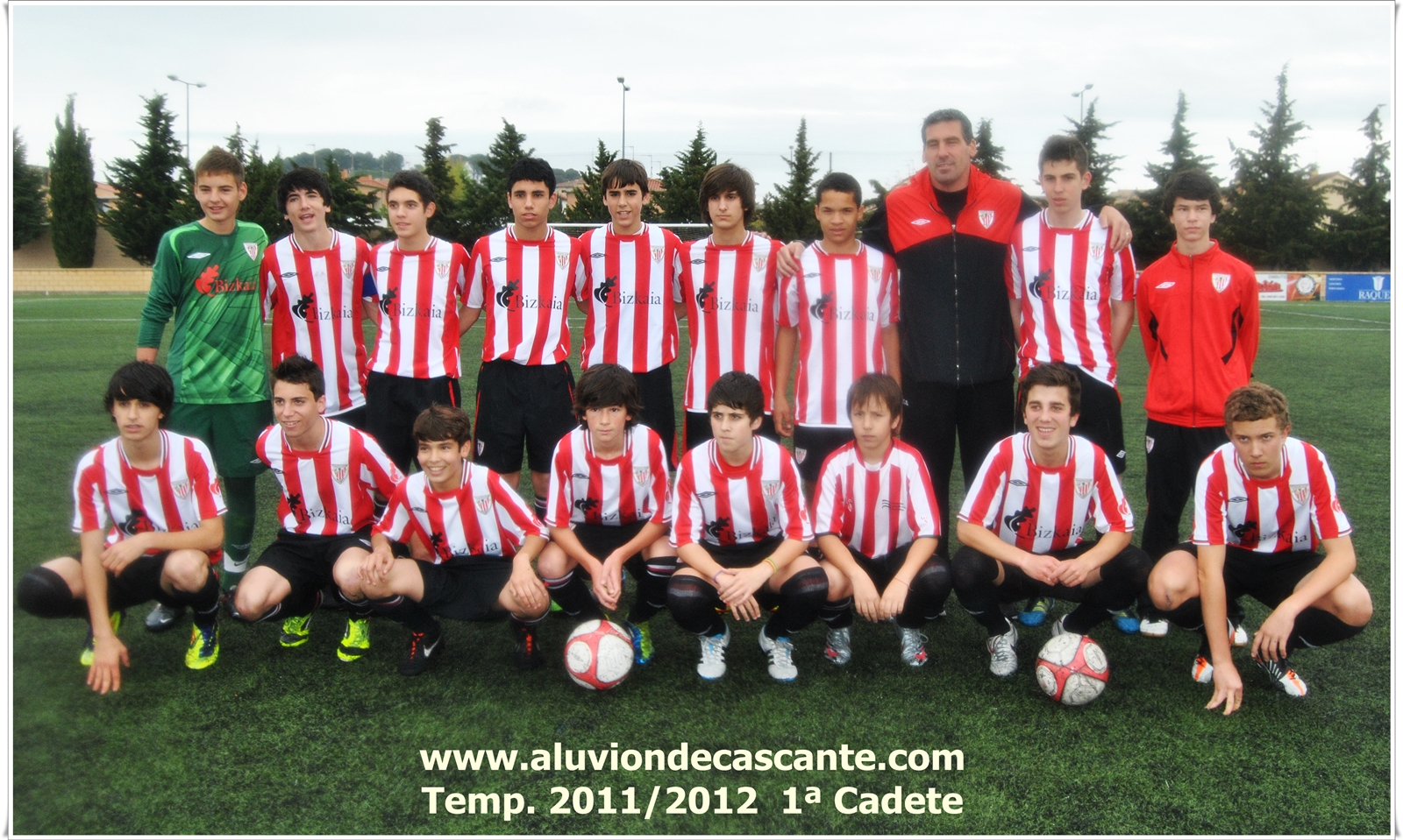 Aluvion de Cascante Primera Cadete