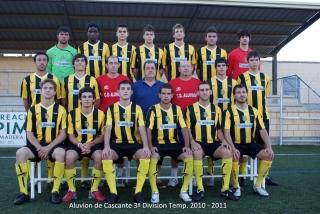 Aluvion tercera division temporada 2010 - 2011