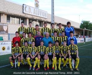 Aluvion Juvenil Liga Nacional Temporada 2010 - 2011